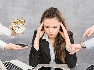 Estrés Laboral y Problemas en el Trabajo